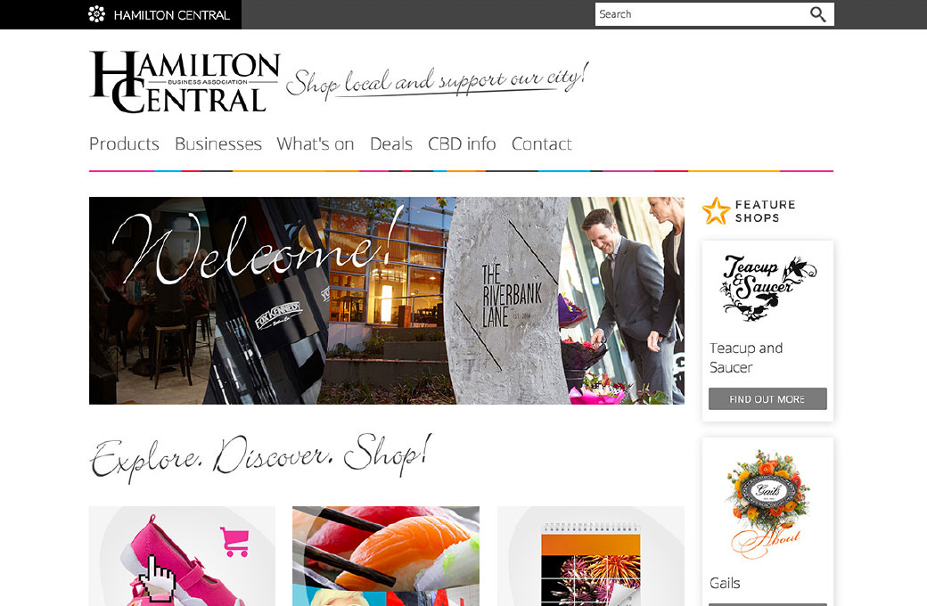 Hamilton Central online marketplace