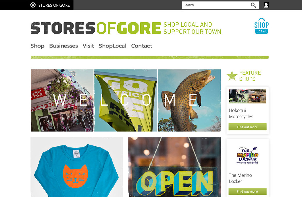 Stores of Gore online marketplace