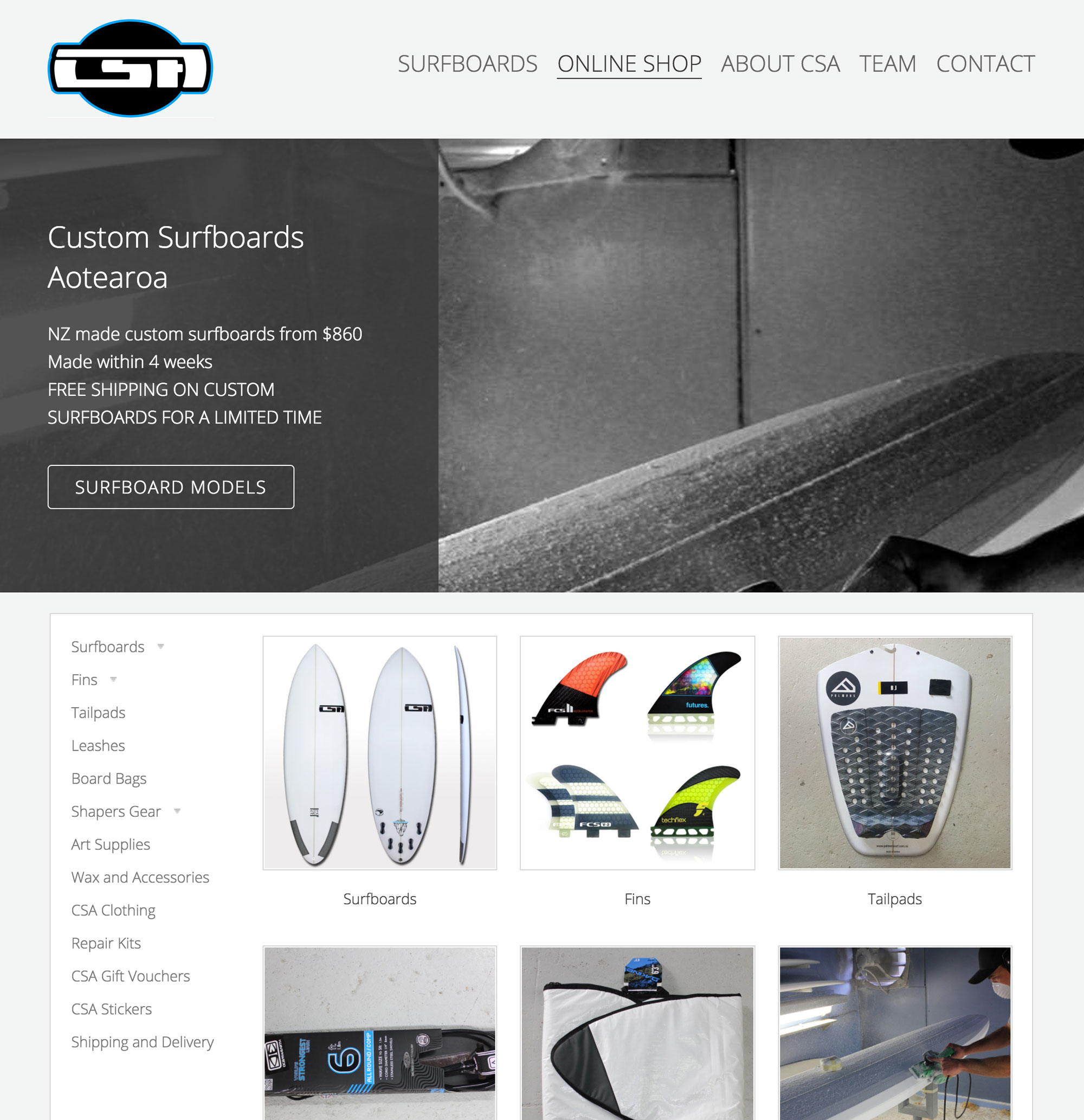CSA Surfboards