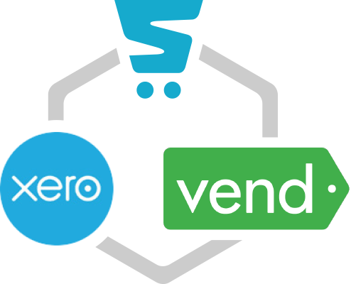 Storbie integrates with Xero and Vend
