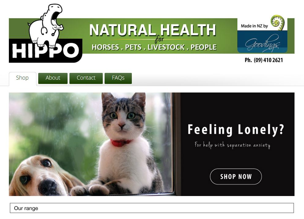 Your online pet products store